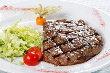 steak dinner  photo