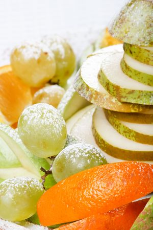 fresh fruits on the plate Stock Photo - 5840720