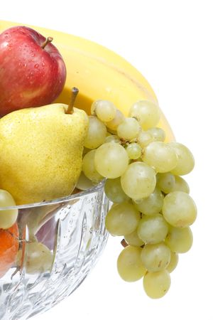 fresh fruits in the bowl Stock Photo - 5840758