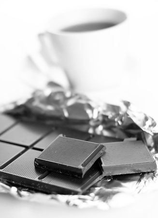 coffee and chocolate  photo