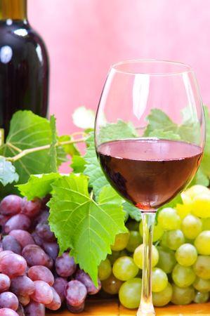wine in glass  photo