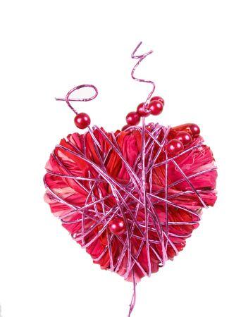 Heart isolated on white background Stock Photo - 5967352