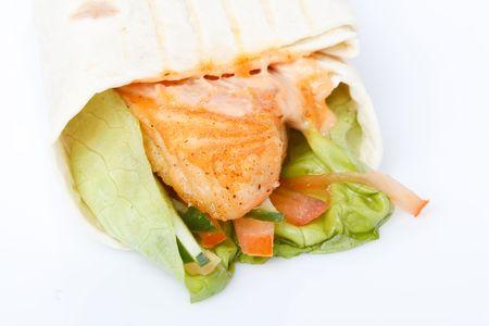 tortilla wrap: Ce�ido de tortilla