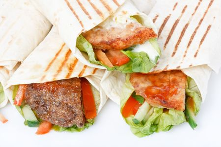 Tortilla wrap  photo