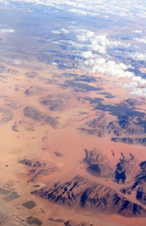 View from the aeroplanes window  photo