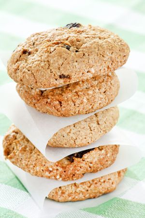 Oatmeal Raisin Cookies photo