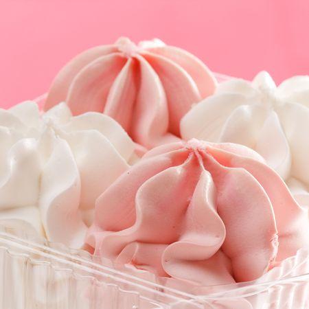 splurge: Strawberry and vanilla ice cream