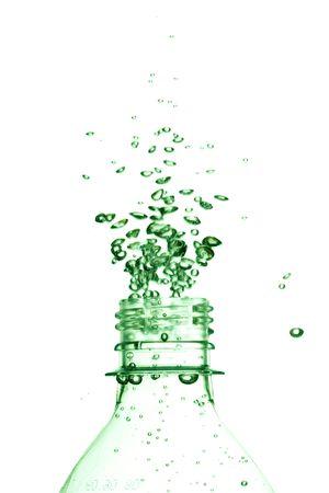 slight: water in the bottle Stock Photo