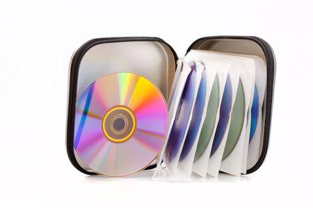 writable: Compact discs  Stock Photo