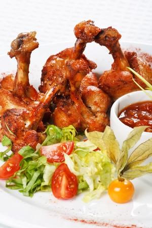 chicken legs  photo