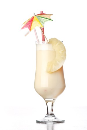 colada: Pina Colada Cocktail  Stock Photo