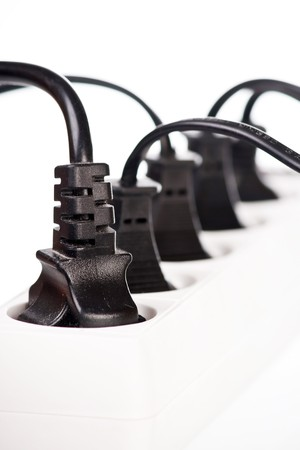 Extension cord with plugs  photo