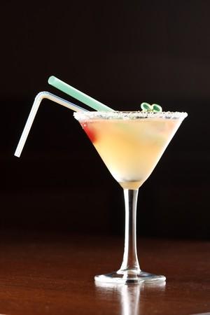 yellow alcoholic cocktail  photo