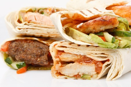 tortilla wrap: Envoltura de tortilla