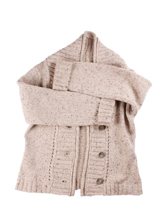 woolen cardigan Stock Photo - 7045087