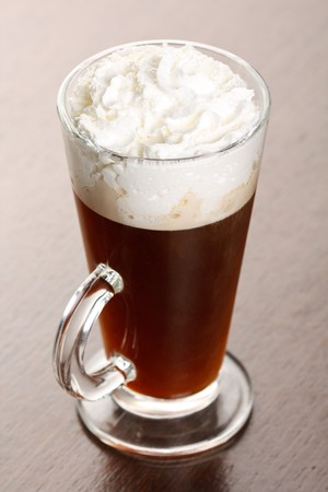 Irish coffee photo
