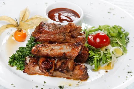 grilled ribs  Stock Photo - 7127128