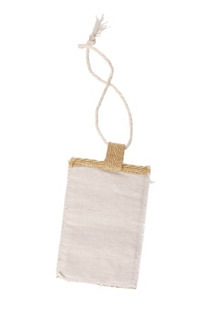 Blank tag isolated on white Stock Photo - 7147409