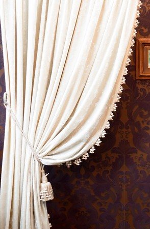Decorative curtain Stock Photo - 7147376