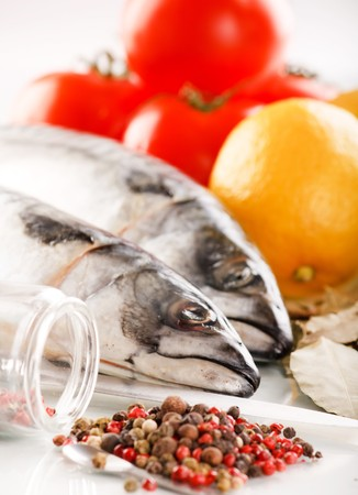 mackerel with spice