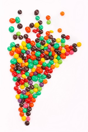 smarties: color candies