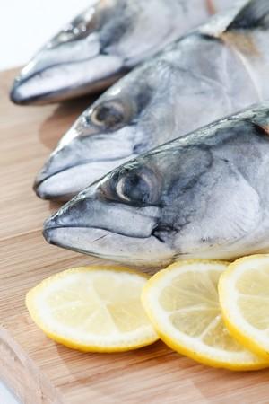fishy: mackerel with lemon