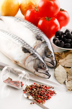 foodie: mackerel with spice