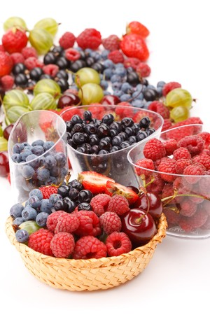 different kinds of berries photo
