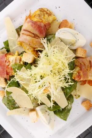 tasty salad  photo
