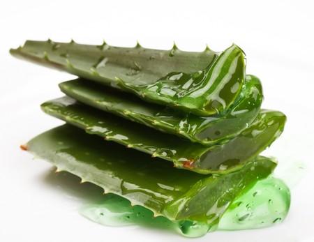 extract: extract of aloe  Stock Photo