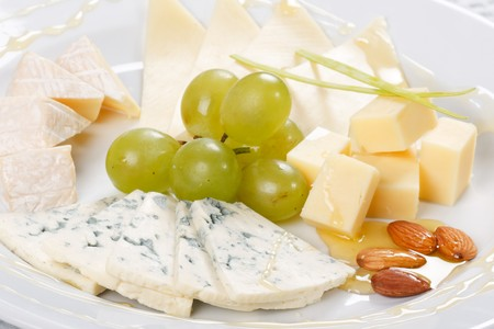 plate of cheese  photo
