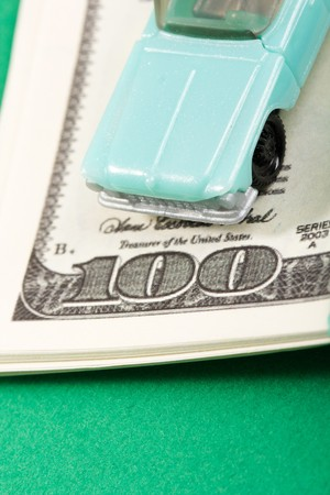 car and money Stock Photo - 7528158