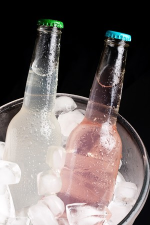 bottles with tasty drink  Stock Photo - 7528165