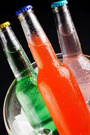 bottles with tasty drink  Stock Photo - 7528181