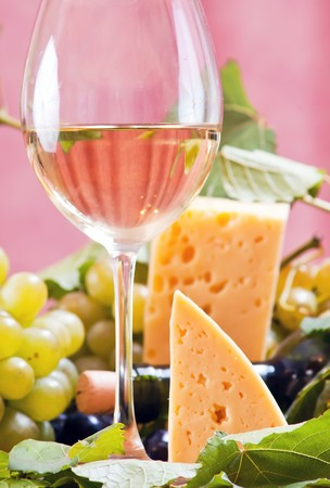 life styles: Wine composition  Stock Photo