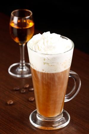 coffee with amaretto  photo
