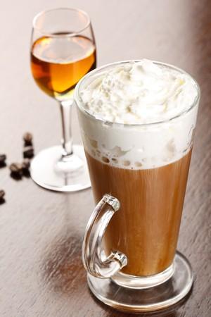amaretto: coffee with amaretto
