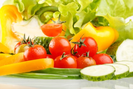 Fresh vegetables.  Stock Photo - 7566512
