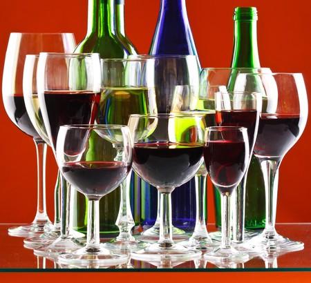 Wine glasses  Stock Photo - 7620726