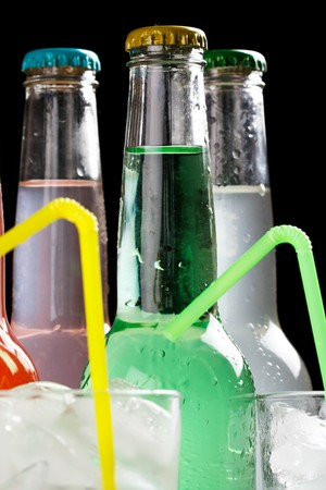 bottles with tasty drink Stock Photo - 7656570