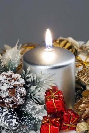 Christmas Candle photo
