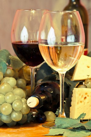 Wine composition  Stock Photo - 7888699