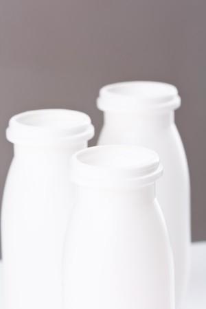 bottles of yogurt Stock Photo - 7888729