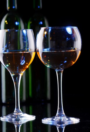 wine in the glass  photo