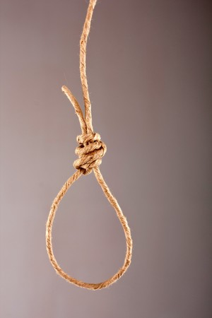 Noose made of rope  photo