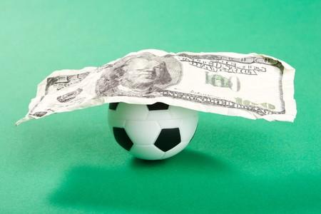 football and dollars Stock Photo - 8182826