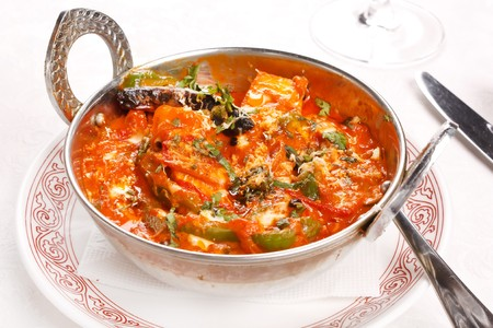 indian meal: indian curry dish