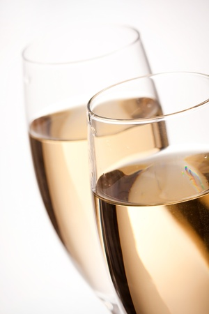 flutes of champagne Stock Photo - 8237079