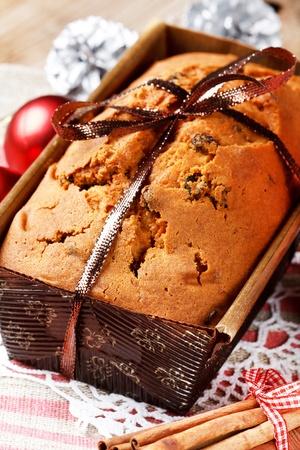Christmas cake photo
