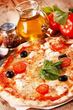 pizza pie: tasty pizza  Stock Photo